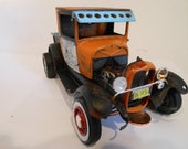 Scale Model T Truck Rusted Classicwrecks Car