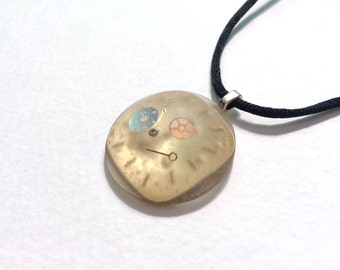 Watch Parts Large Dome Pendant Necklace Watch Face