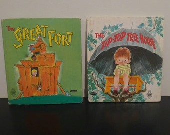 Vintage Whitman Tell-A-Tale Book Bundle - Outdoor Play