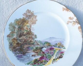 Vintage Shelley England Heather Salad Plate
