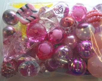 Destash, 18mm plus Beads, NOT Paired, 50 beads or more, NP50AE