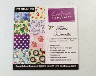 Software, Christmas, Backing Papers, Tea Bag Papers, Inserts and envelopes