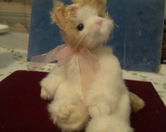 REDUCED  Attic Treasure Kitty with Articulated Head and Legs