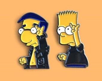 BFF SET: Bart Simpson Milhouse