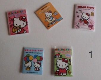 Dollhouse miniature coloring books