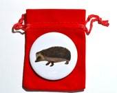 Hegdehog - Pocket Mirror - Fashion Accessory - Giftware - Round Mirror
