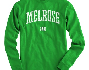 LS Melrose Los Angeles Tee - Long Sleeve T-shirt - Men S M L XL 2x 3x 4x - Gift, Melrose Shirt, Melrose Avenue, Tourism, Travel, LA 90038