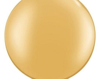 Metallic or Pearlized 30 inches giant balloon for Wedding, centerpieces, Baby Showers, Quinces, Sweet Sixteen, Birthday Parties