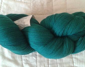 Wollmeise lace yarn,  green wool yarn,  lace yarn,  wool fingering yarn,  hand dyed yarn,  German yarn