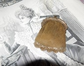 Antique Edwardian early 1900s mesh purse