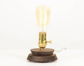 Table Lamp, Desk Lamp, Modern Lighting, Edison Bulb- Pedestal Lamp