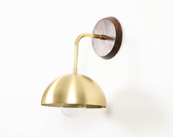 Sconce, Wall Lamp, Brass Lamp, Modern Lighting- Luna Sconce