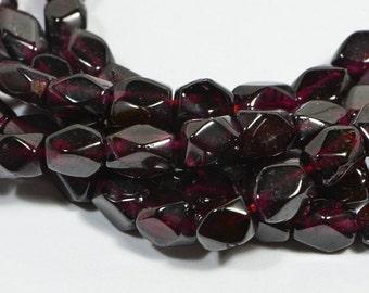 Garnet 5.7x4.5x4.2mm Beads Natural Gemstone Beads Gemstone Bead Garnet Beads Jewelry Making Supplies
