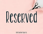 Reserved for Dary