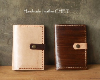 Personalized Leather Passport cover/ Passport holder by saddle leather