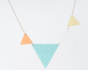 nice pennant necklace ice cream