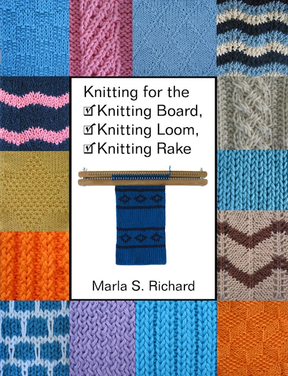 Loom Knitting Questions : Knitting board loom books book combo for the