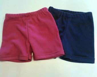 Set of 2 Handmade Shorts - Newborn - 36 months