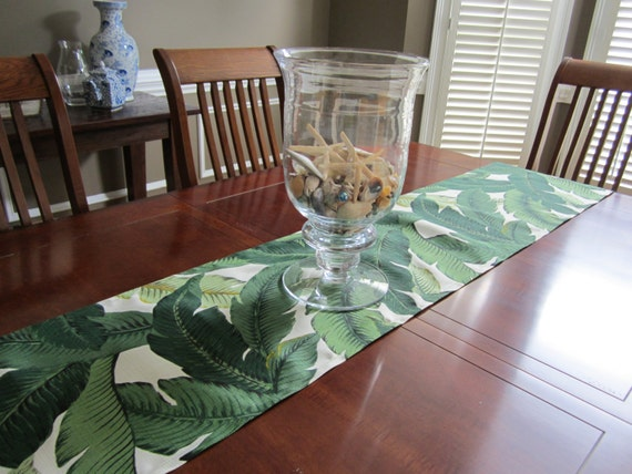 Superior Tropical Wedding Table Runner   Banana Palm Leaf   Table Runners   Palm  Springs   Martinique   Beverly Hills Hotel   Palm Beach