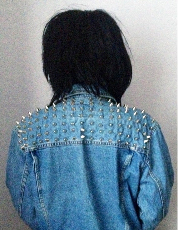 SEXYBACK // Vintage Custom Studded Denim Jacket - Made To Order - All Sizes Available