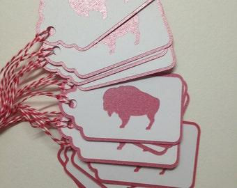 Buffalo tags gift tags