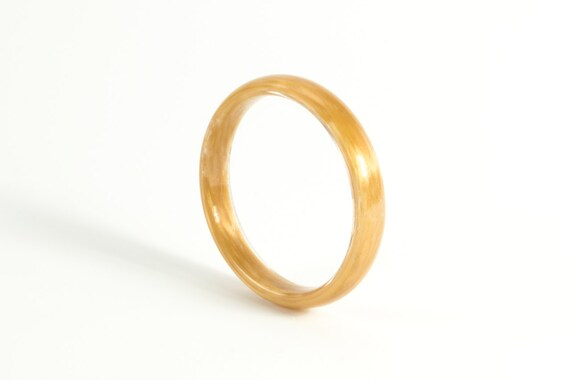 Women39s kevlar round ring unique and industrial golden for Kevlar wedding ring