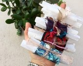 The Original Selenite wand Bundles ((three wands per bundle)) healing crystal, angelic crystal,gift bundle,gift,wedding favor,Valentines day