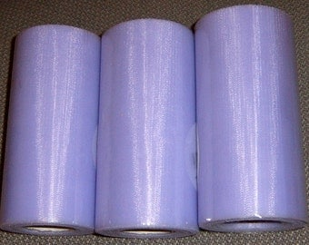 40% Off, Tulle, Three Rolls Lavender Tulle, 6 inches by 40 yards, Craft Supplies, Sewing Supplies,Lavender Tulle