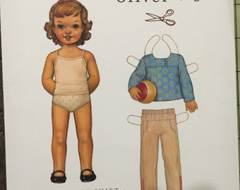 New in Package Oliver and S After School Shirt and Pants Pattern 6 mo-4  years