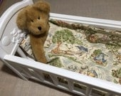 """Winnie the Pooh 18"""" Doll Quilt with Pillow"""