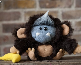 Monkeysquatch Plush - Made To Order
