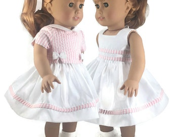 """Dress and Blouse for the American Girl and 18"""" dolls"""