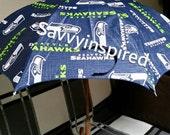 Seahawks Vinyl Umbrella