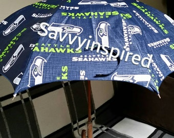 Seahawks Vinyl Umbrella