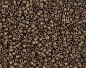 MIYUKI DELICA BEAD, 11/0 Matte Metallic Dark Bronze DB0322, 5g, 10g, 15g, 20g Delica Beads