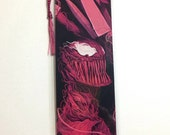 Upcycled Carnage Comic Book Bookmark