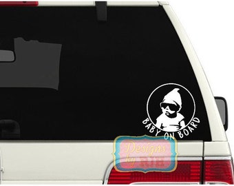 The Hangover Funny Baby On Board Car Decal