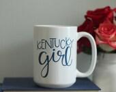 Kentucky Girl 15 oz mug