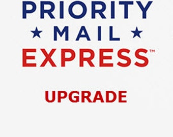 Express Shipping upgrade / US only.