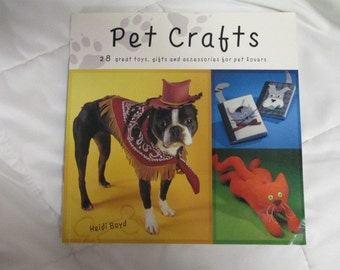 Pet Crafts Book to make 28 great toys for your pets