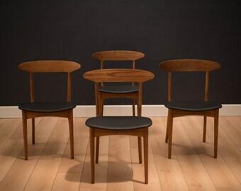 Mid Century Danish Kurt Ostervig Dining Chairs