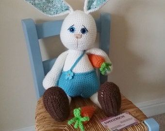 Crochet Bunny - MADE TO ORDER -