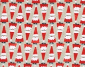 Garland - Santa Parade in Natural - Melody Miller for Cotton + Steel - 5070-1 - 1/2 yd