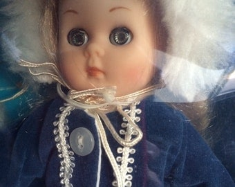 "1984 Vogue Ginny Doll 8"" Winter Chill"