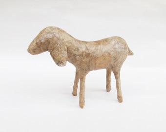 You Paint - Paper Mache Goat