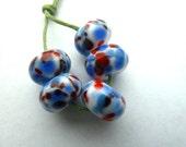 koi handmade lampwork glass beads