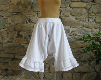Victorian bloomers, antique French undergarment