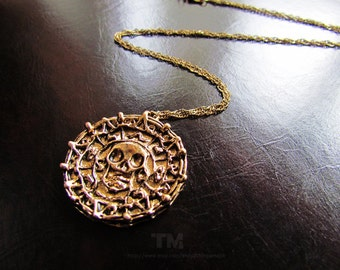 PRE-ORDER: Curse of the Aztec Gold – Pirates of the Caribbean Inspired Necklace