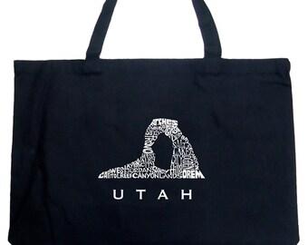 Large Tote Bag - UTAH