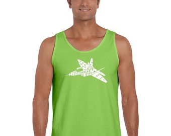 Men's Tank Top - Fighter Jet - Need For Speed